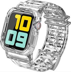 AHASTYLE Transparent iWatch Band Strap - 38/40MM