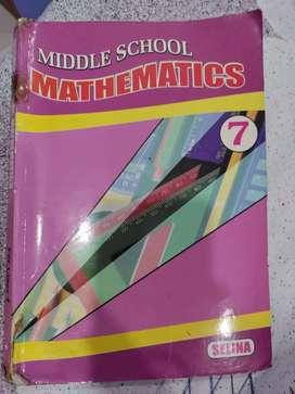 Middle school mathematics class 7