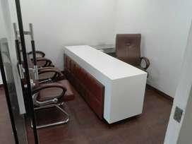 Furnish office with AC available feroz gandhi market sarabha nagar