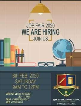 JOB FAIR AT IQRA INTERNATIONAL SCHOOL