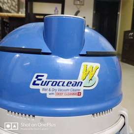 EUROCLEAN Wet and Dry Vacuum Cleaner with Deep Cleaning