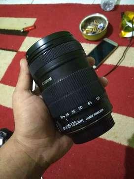 Lensa kamera dslr 18-135 for canon