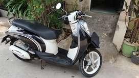 Honda Scoopy tahun 2011 karburator di jaya motor melayani kredit
