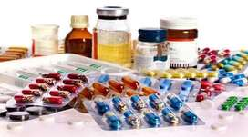 Need Medical Rep/Order Booker/Salesman/Driver for pharma company