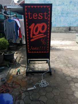 running text konter kuota besar
