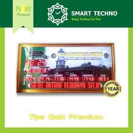 New Product Jam Digital Masjid Tipe Gold Premium Terbaik abs+