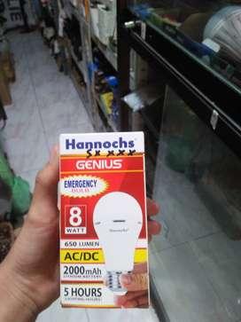 Lampu sensor hannochs 8 watt
