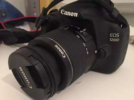 Canon 1200D with 18-55mm