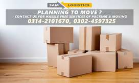 SAM LOGISTICS (Packers & Movers of Household Goods, Import / Export)