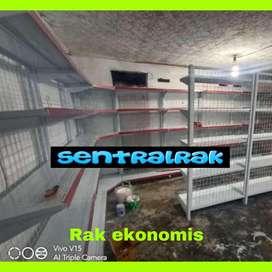 Rak gondola dinding tipe ekonomis kuat murah pabrik sentralrak