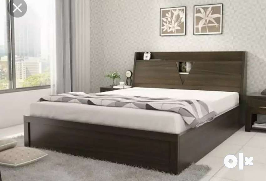 New Hexagon Premium Bed #008
