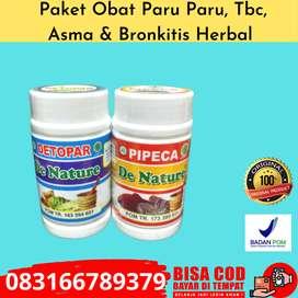Pipeca  Detopar Obat Tbc, Asma, Paru Herbal De Nature