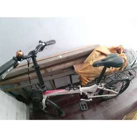 Sepeda Lipat Element Go green
