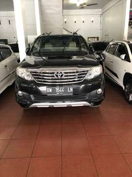 Fortuner 2013 Type G Manual Solar