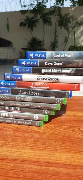 Ps4 games xbox games in mint condition