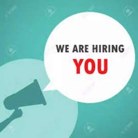 Fresher candidate apply Kare male and female job vecancy