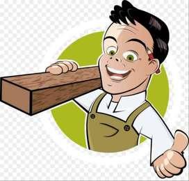 Dicari segera tukang kayu