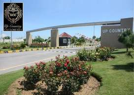 Level possession able proper Corner plot Block H available in Up Count