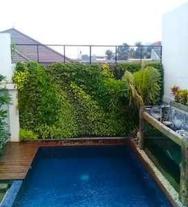 Jasa tukang taman vertikal garden. Serepong gratis surpey
