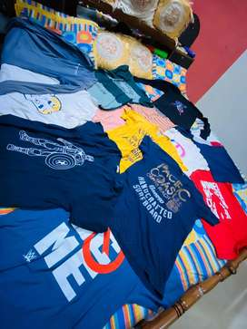 used tee shirt for sale rupees 150 each