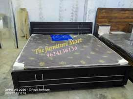 King size storage bed brand new