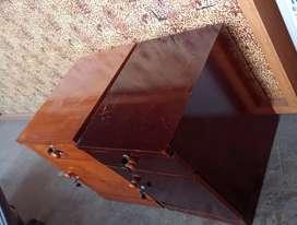 Nakas kayu meja kecil