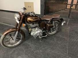 Bullet classic 500 kabir singh colour fully customized