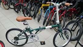 Sepeda lipat Raleigh (Mirip dahon BW) Brand UK