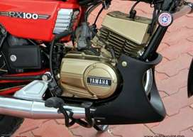 Yamaha rx 100 engine guard