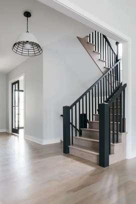 Railing tangga minimalis