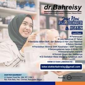 Lowongan Bogor Asisten Dokter