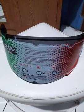 Jual dark visor helm Rp 150 rb nett