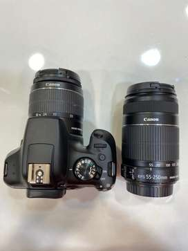 Canon 1300 D (DSLR CAMERA )with extra lens