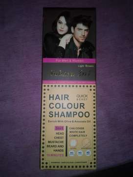 Hair color shampoo(imported)for men nd women 5in ine