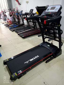 Treadmill elektrik 2hp Auto incline PROMO Ready bisa bayar ditempat