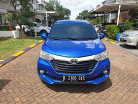 Kondisi GRESS - Toyota Avanza 1300 cc MATIC Biru Metalik 2019