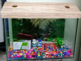 New Fish Tank With Accessories Size 1.5FT
