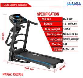 Treadmill TL-619 New Gratis Ongkir dan Pasang  Garansi