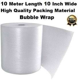 Bubble Wrap 10 Meter Length 10 Inch Wide High Quality Packing Material