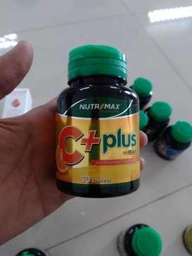 Nutrimax C+ Plus vitamin daya tahan kekebalan tubuh isi 30 dan 60