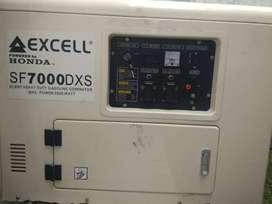 Genset Silent Excel Honda 5500 watt