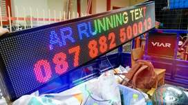Lampu Pasang Running text Laris Media Promosi Berbasis Digital