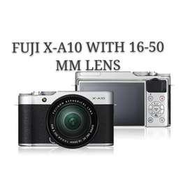 Fujifilm X-A10 Kit 16-50mm New Resmi Bisa KrediT DP
