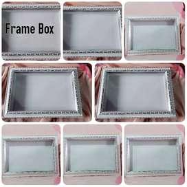 Frame box 3D untuk mahar
