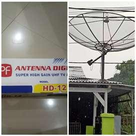 Antena tv hd12gambar bening bisa paralel pasang gratisantena outdoor