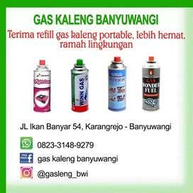 Jasa Refill Gas Kaleng Portable
