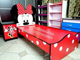 Minnie mouse bed 6 by 3 feet in very reasonable price.
