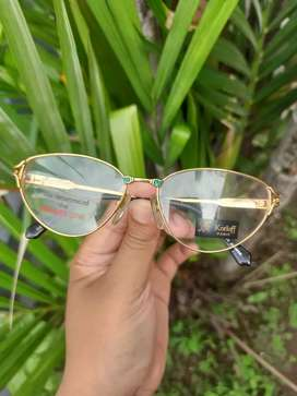 Kacamata vintage merk Korloff Paris X Kodak Lens