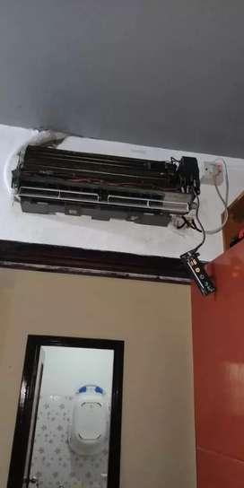 Oga teknik melayani jasa service AC cuci bongkar pasang perbaikan