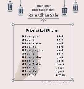 Lcd iPhone  Baterai iPhone Promo Ramadhan